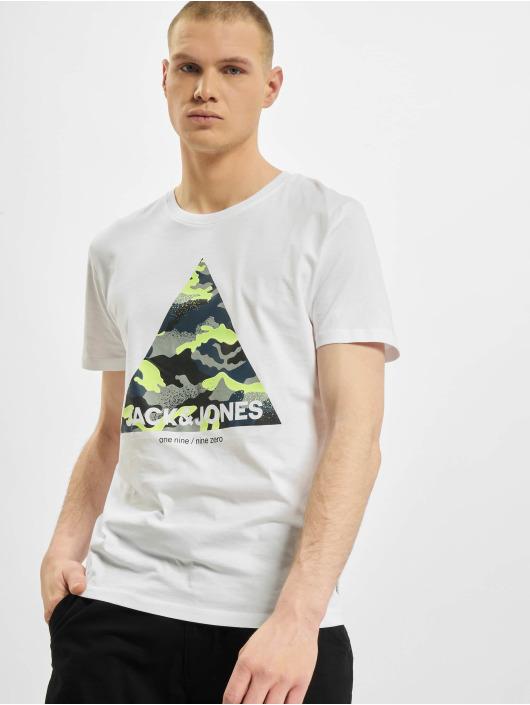 Jack & Jones T-Shirty jjPrime bialy
