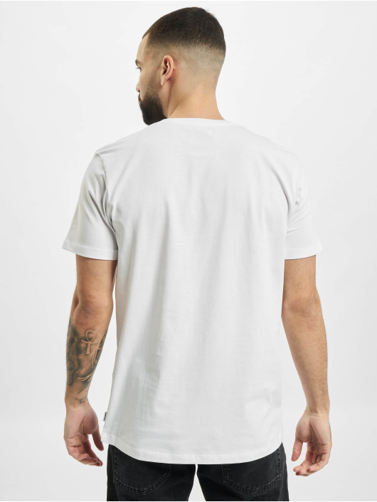 Jack & Jones T-Shirty jjCircle Flock bialy