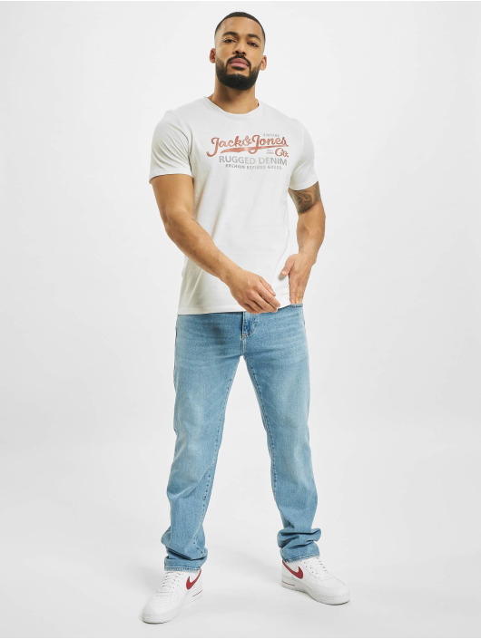 Jack & Jones T-Shirty jprBlustar bialy