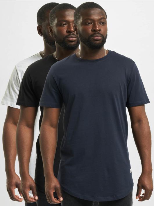 Jack & Jones T-Shirty jjeNoa 3-Pack Multipack bialy