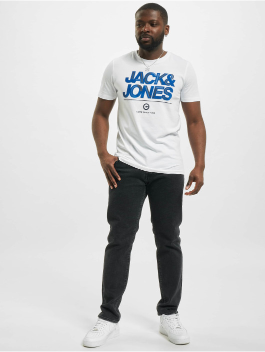 Jack & Jones T-Shirty jcoBerg Turk bialy