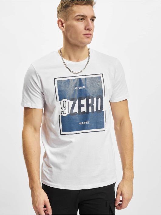 Jack & Jones T-Shirty Jjjony bialy