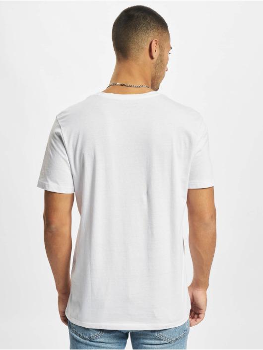 Jack & Jones T-Shirty Jjmula bialy