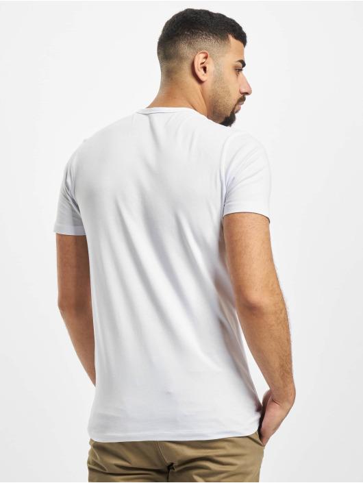 Jack & Jones T-Shirty Core Basic V-Neck bialy