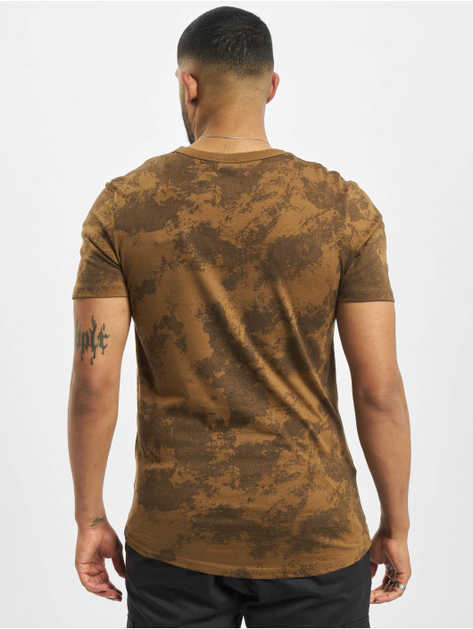 Jack & Jones T-Shirty jcoLandon brazowy