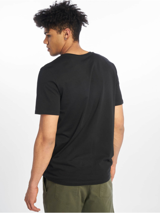 Jack & Jones T-Shirty jcoSpring-Feel czarny