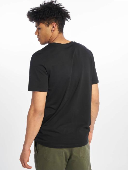Jack & Jones T-Shirty jcoSpring-Feel czarny