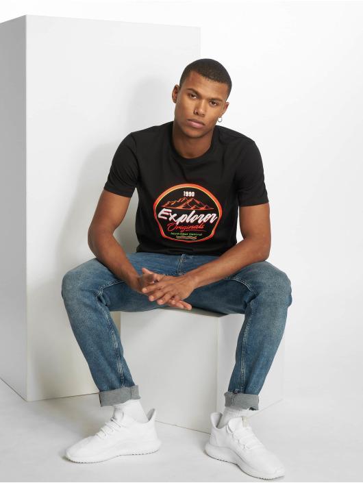 Jack & Jones T-Shirty jorMonument czarny