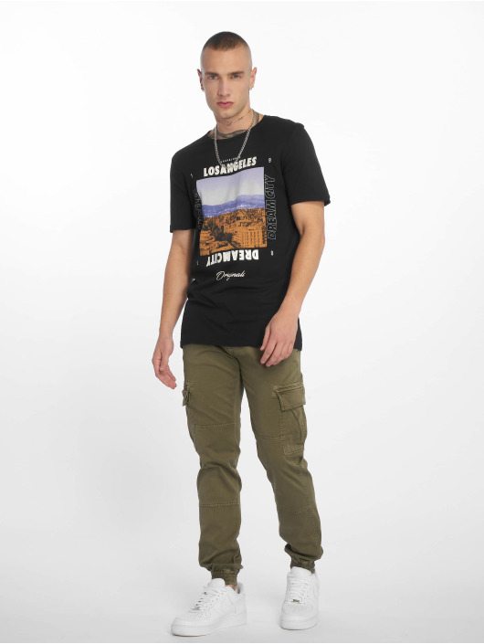 Jack & Jones T-Shirty jorSuburban czarny