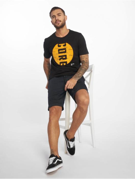 Jack & Jones T-Shirty jcoLaw czarny