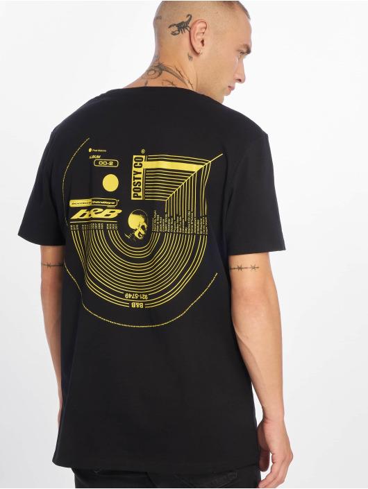 Jack & Jones T-Shirty jcoPostmalone Crew Neck czarny