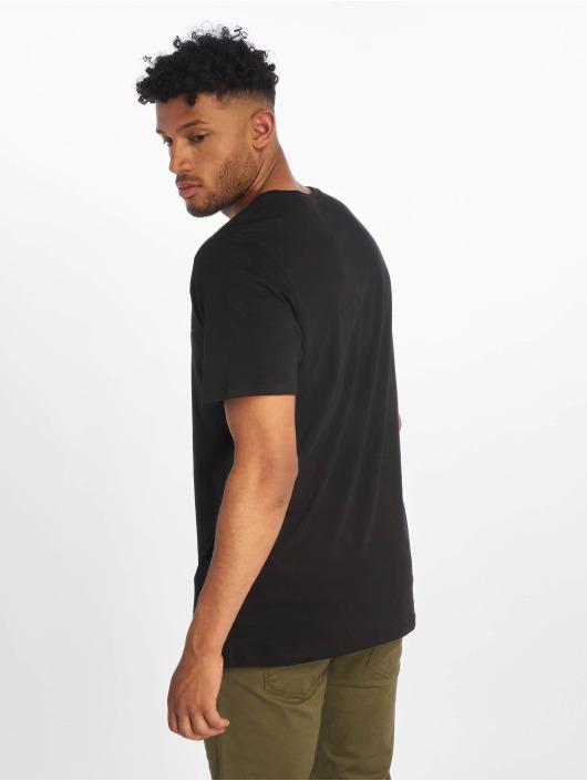 Jack & Jones T-Shirty jjeCorp Logo czarny
