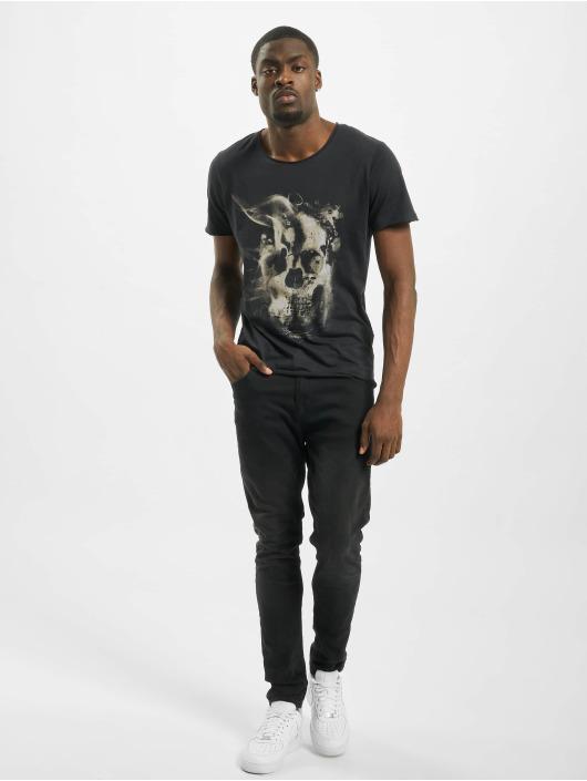 Jack & Jones T-Shirty jorDark City czarny
