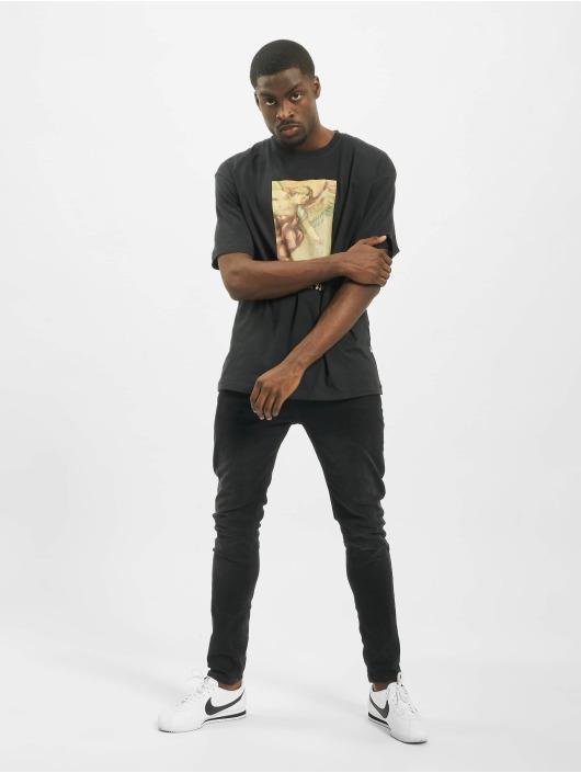 Jack & Jones T-Shirty jorMeme czarny