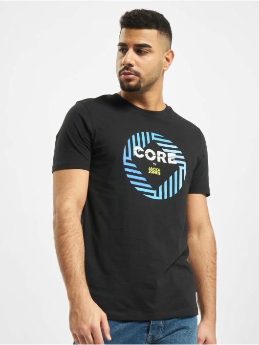 Jack & Jones T-Shirty jcoFriday-Disc czarny