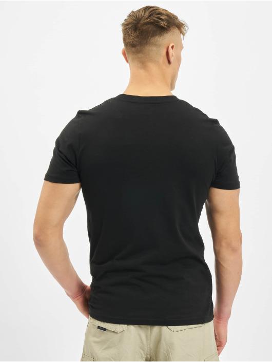 Jack & Jones T-Shirty jcoSplatter czarny