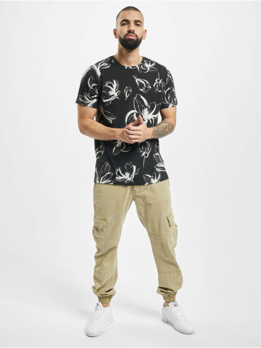 Jack & Jones T-Shirty jprBlaroberto czarny