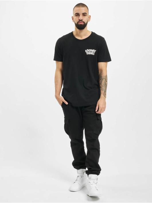 Jack & Jones T-Shirty jcoLooney czarny