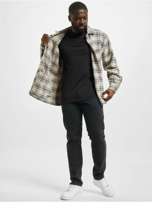 Jack & Jones T-Shirty jprBlajake czarny