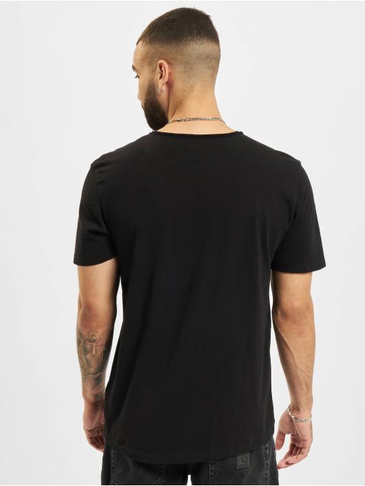 Jack & Jones T-Shirty Jjebasher O-Neck czarny