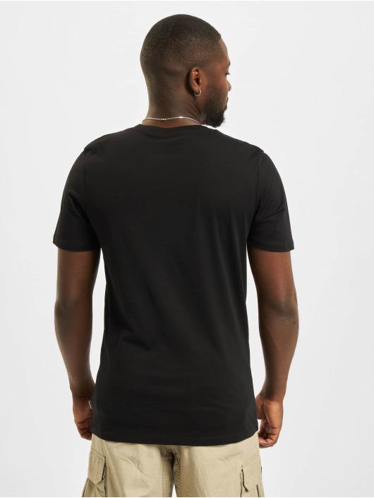 Jack & Jones T-Shirty Jjeorganic O-Neck czarny