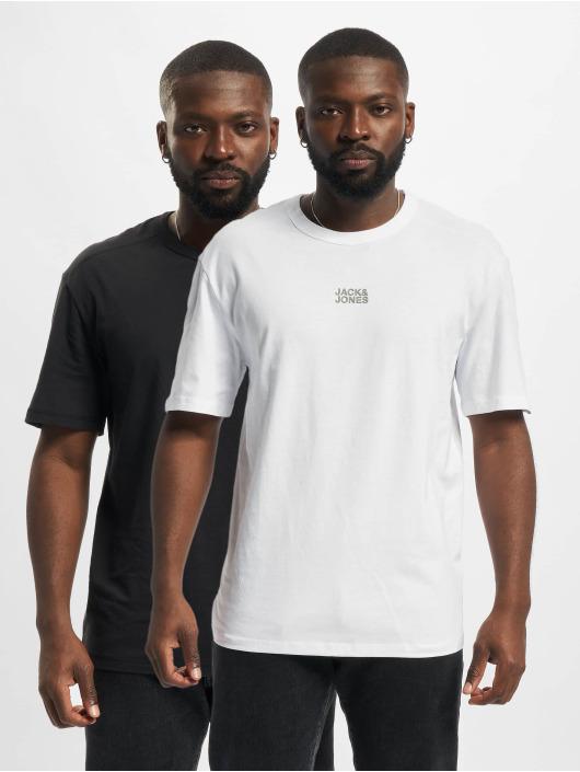 Jack & Jones T-Shirty Jcoclassic Crew Neck 2PK czarny