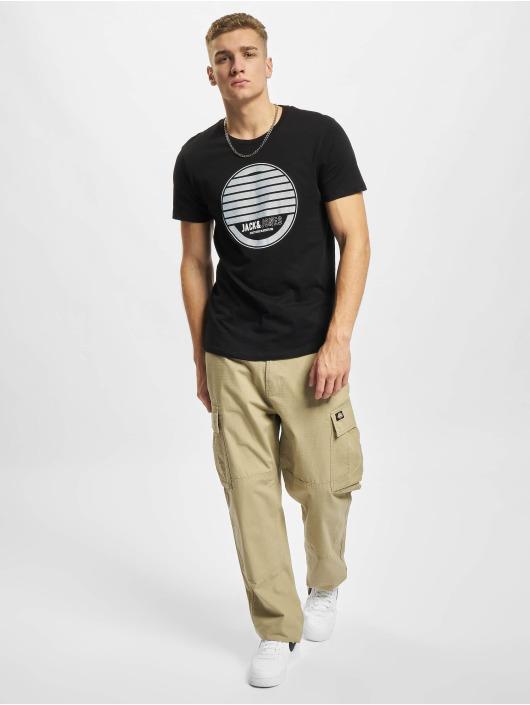 Jack & Jones T-Shirty Jjjony czarny