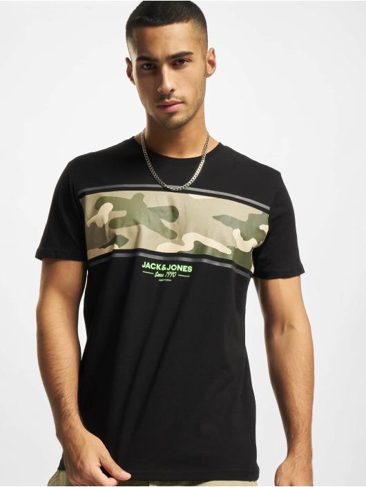 Jack & Jones T-Shirty Jjsoldier czarny