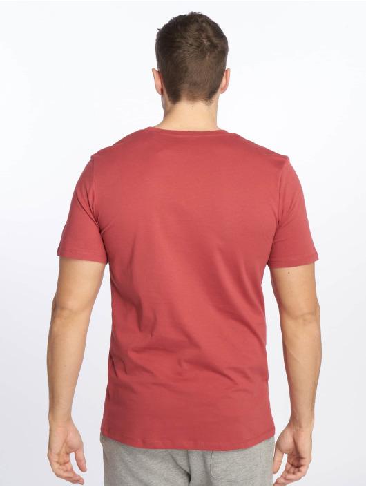 Jack & Jones T-Shirty jjeLogo czerwony