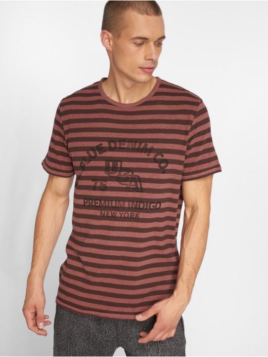 Jack & Jones T-Shirty jprJoe czerwony