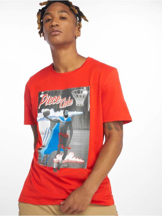 Jack & Jones T-Shirty jorArt Carnival czerwony