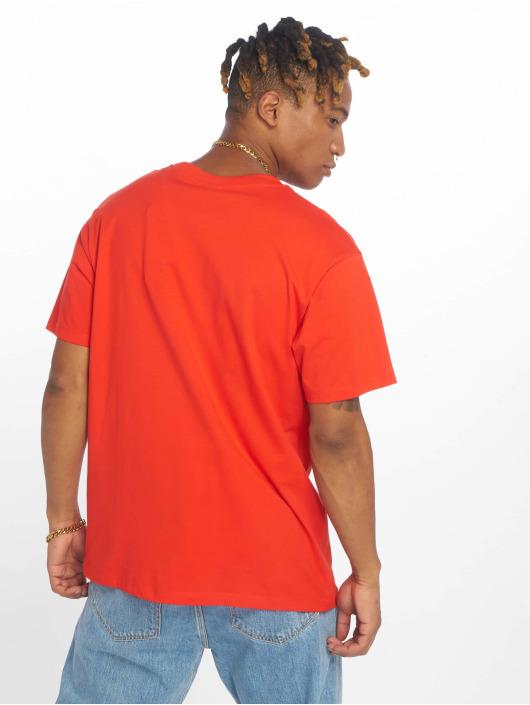 Jack & Jones T-Shirty jorBowl czerwony