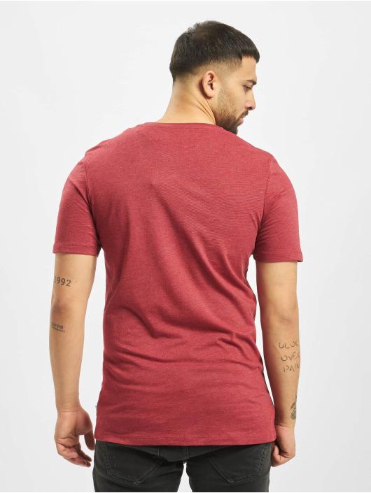 Jack & Jones T-Shirty jcoFebby czerwony