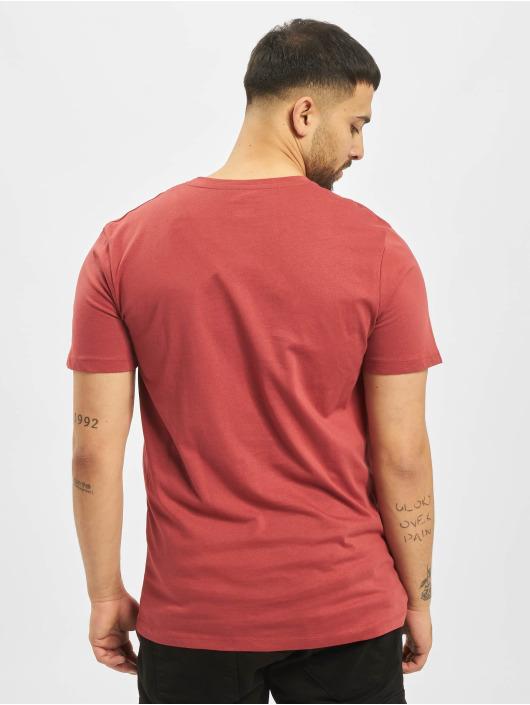 Jack & Jones T-Shirty jorSantaparty czerwony
