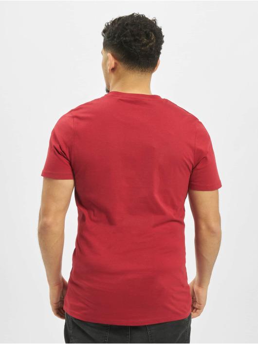 Jack & Jones T-Shirty jjeDenim Logo O-Neck Noos czerwony