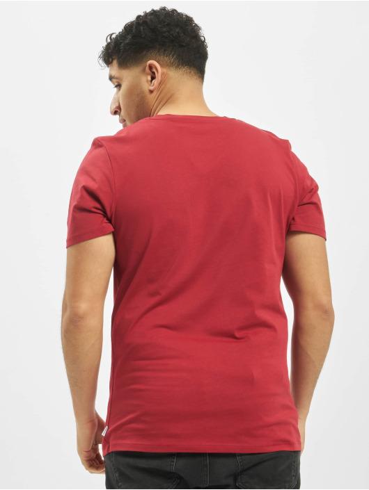 Jack & Jones T-Shirty jjePocke O-Neck Noos czerwony