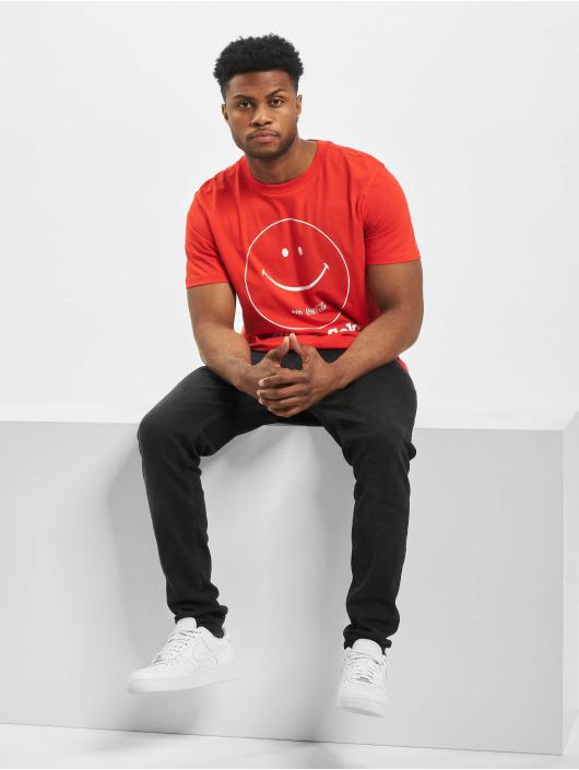 Jack & Jones T-Shirty jprLance czerwony