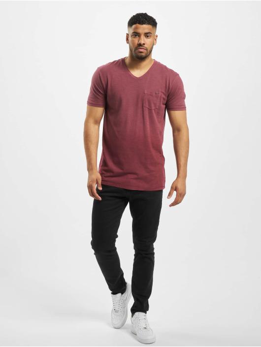 Jack & Jones T-Shirty jprBraxton czerwony