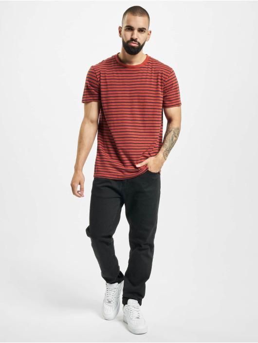Jack & Jones T-Shirty jprBlujordan czerwony