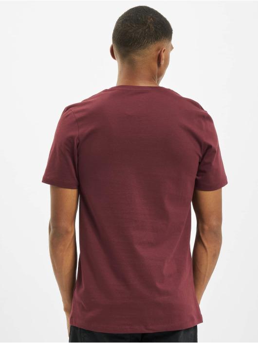 Jack & Jones T-Shirty jjBarista czerwony