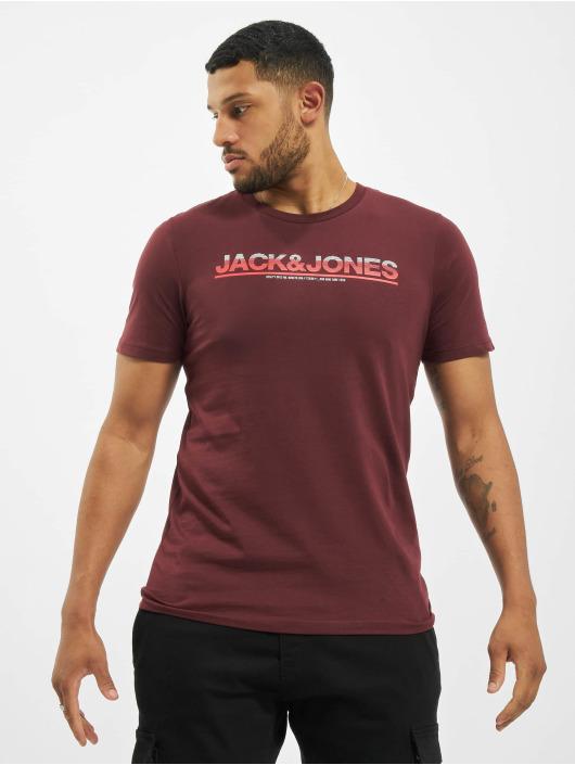 Jack & Jones T-Shirty jcoJumbo czerwony