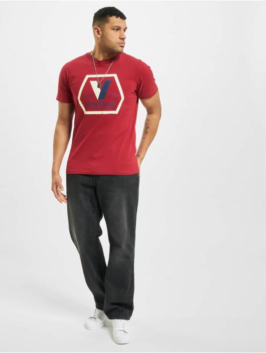Jack & Jones T-Shirty jprBlucary czerwony