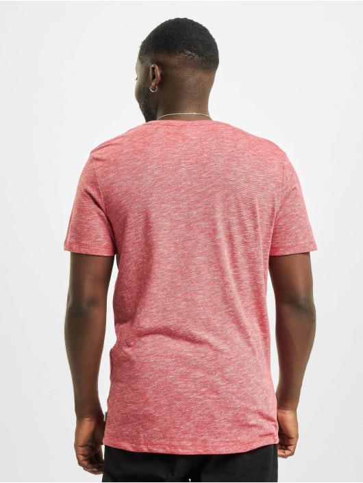 Jack & Jones T-Shirty jjDelight czerwony