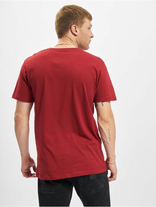 Jack & Jones T-Shirty Jjgavin czerwony