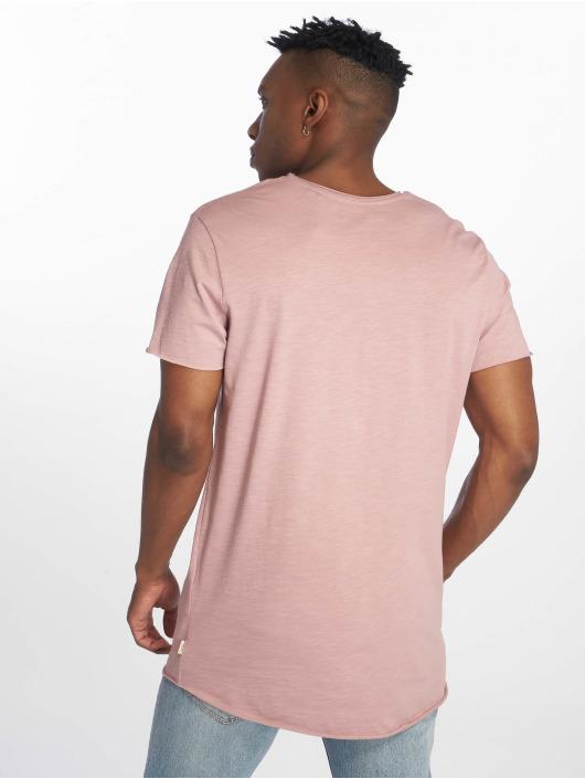 Jack & Jones T-Shirty jjeBas fioletowy