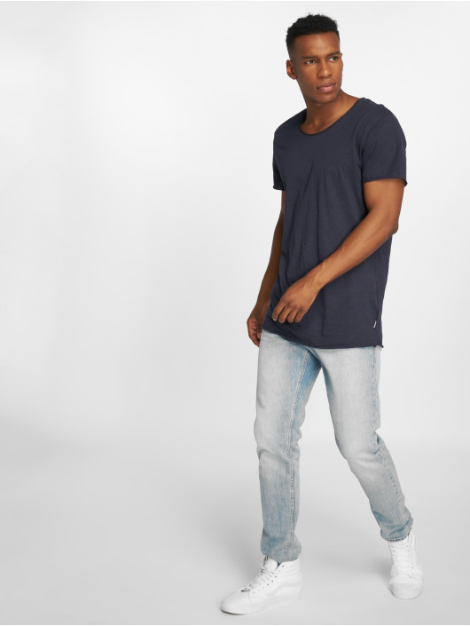 Jack & Jones T-Shirty jjeBas niebieski