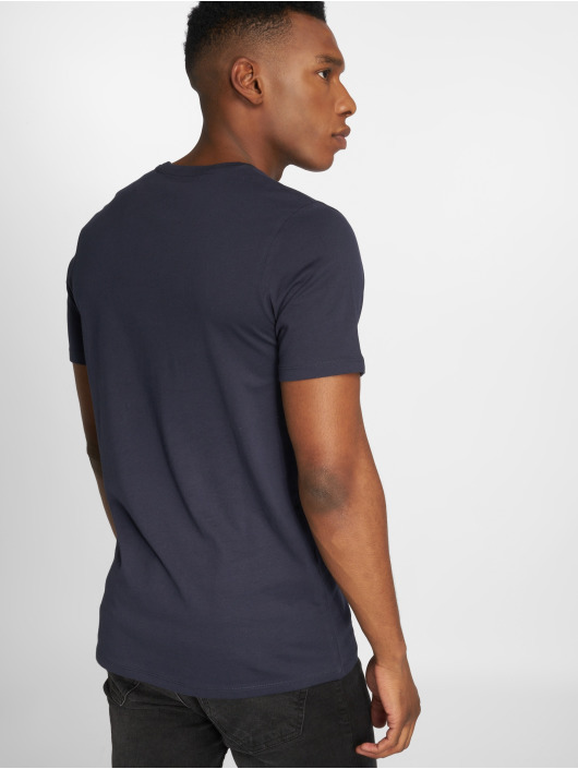 Jack & Jones T-Shirty jjePocket niebieski