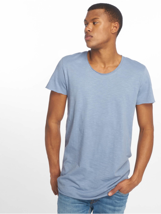 Jack & Jones T-Shirty jjeBas niebieski