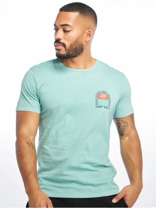 Jack & Jones T-Shirty jorSurfsoul niebieski