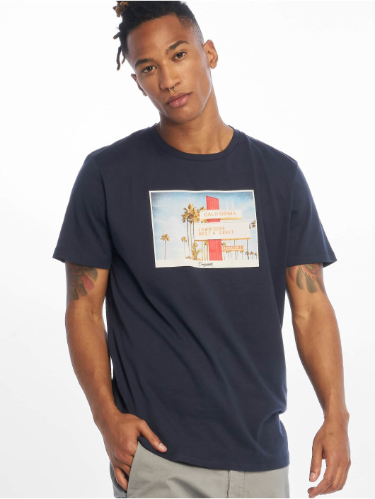 Jack & Jones T-Shirty jorHotel niebieski